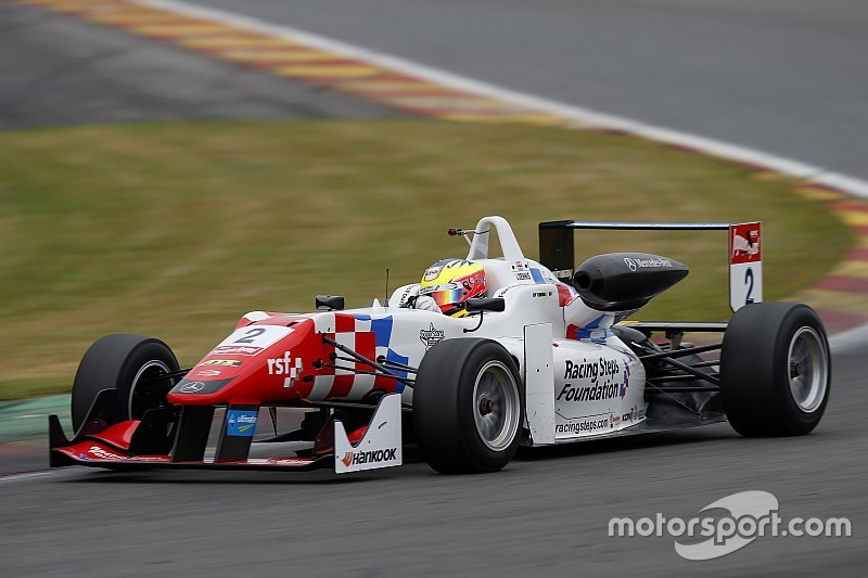 Dennis holds off Leclerc for final Spa win as Calderon stars