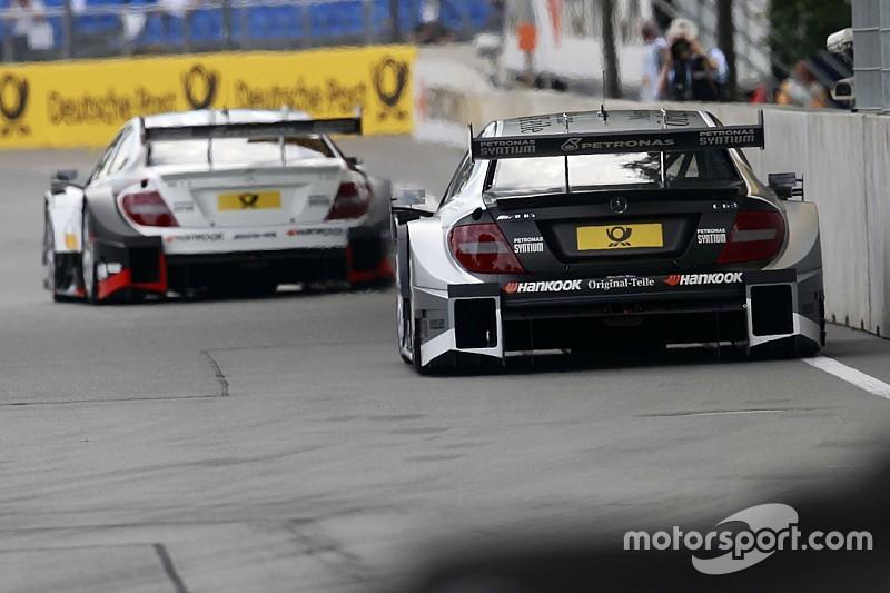 Пилоты Mercedes будут стартовать с первого ряда на Норисринге