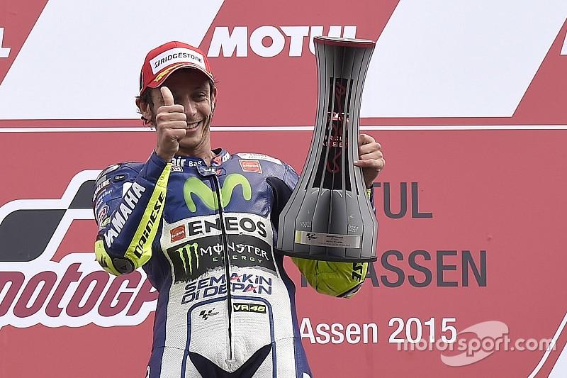 """""""Yo no hice nada malo, en la última curva"""", aseguró Rossi"""
