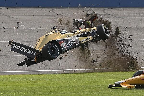 Vidéo - Le résumé fou de l'IndyCar à Fontana!