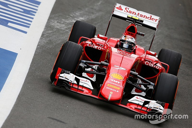 Fifth and sixth places for Ferrari in qualifying at Silverstone