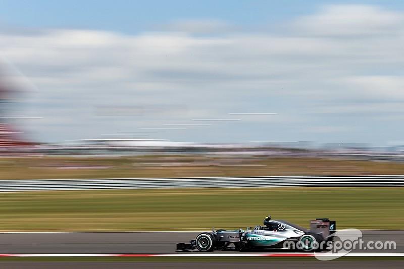 """Rosberg - """"J'ai beaucoup attaqué"""""""