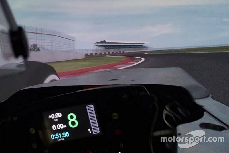 Vidéo - Avec Fernando Alonso dans le simulateur McLaren!