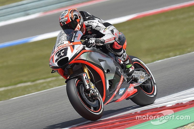 Aprilia parts ways with Melandri