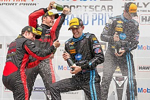 IMSA Race report UPDATED: Taylor brothers take Corvette to CTMP victory lane