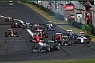 Palmer approuve les restrictions pour les pilotes au départ