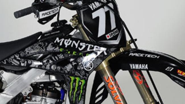 Yamaha Monster Energy Motocross Team 2010