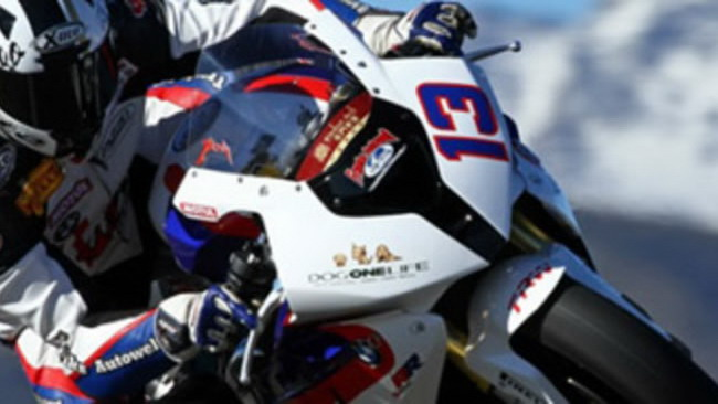 Rico Penzkofer e la S1000RR al TT 2010