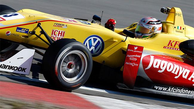 Giovinazzi fa sua la pole di Gara 1 a Zandvoort