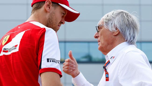 Vettel aveva danneggiato il fondo della SF15-T!