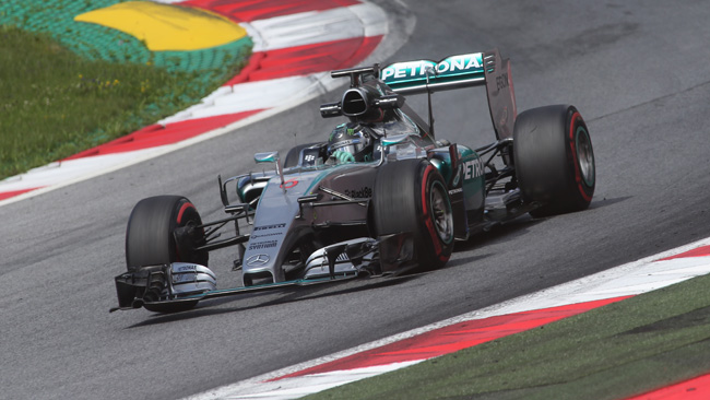 Red Bull Ring, Day 2: Rosberg davanti a Gutierrez
