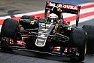 Prove di aerodinamica e set-up per la Lotus