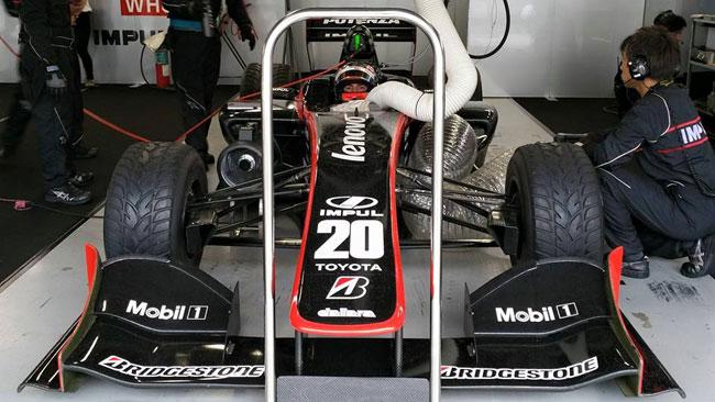 Prima pole in Super Formula per Caldarelli al Fuji