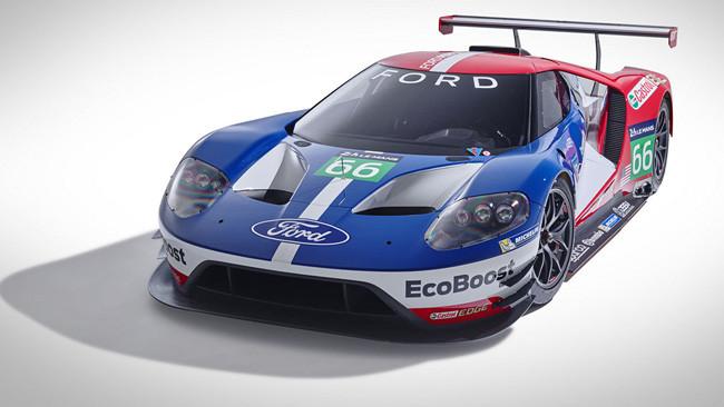 La Ford GT con Ganassi e Sabates a Le Mans