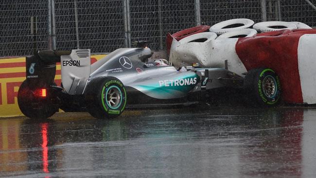 """Hamilton: """"Oggi ho commesso tre errori"""""""