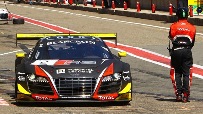 Christopher Mies e l'Audi aprono il weekend di Zolder
