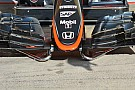McLaren: va al crash test il nuovo muso corto