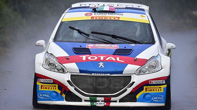 Targa Florio, PS3: inizia la rimonta di Andreucci