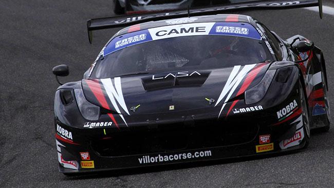 Villorba scalda i motori per la competizione di Monza