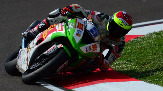 Prima top five in Supersport per Marco Faccani