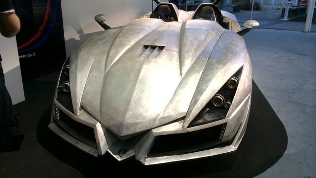 """Ecco la Ever-S, la """"scultura di alluminio"""""""