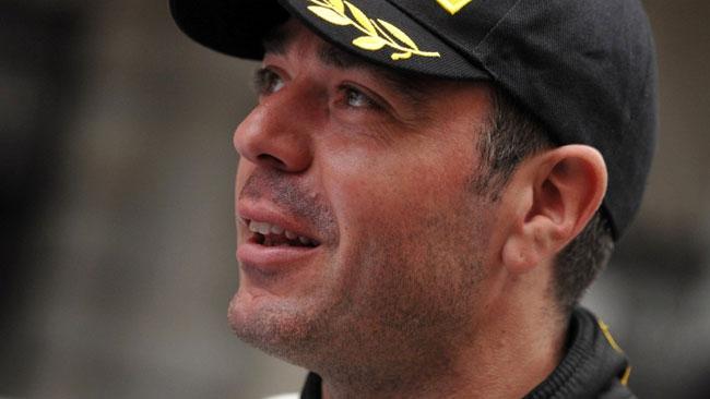 Luca Rossetti al Monza Rally Show su una 208 T16