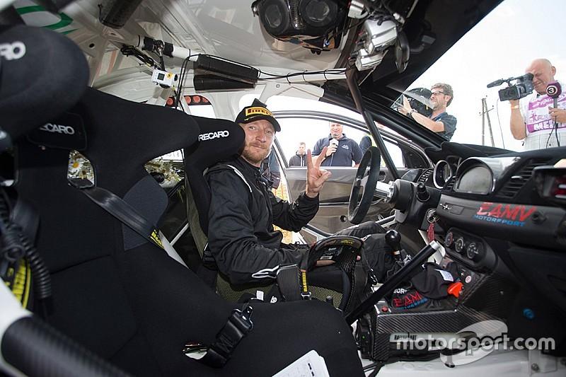 Лукьянюк протестирует Fiesta WRC перед стартом в Финляндии