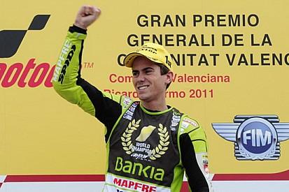 Valencia dedica una curva a Nico Terol