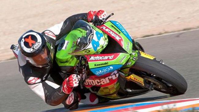 David Salom toglie la pole position a Fabien Foret