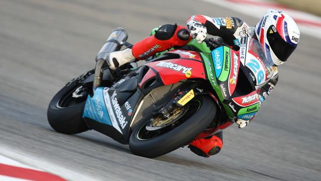 Tre Kawasaki in prima fila a Brno!