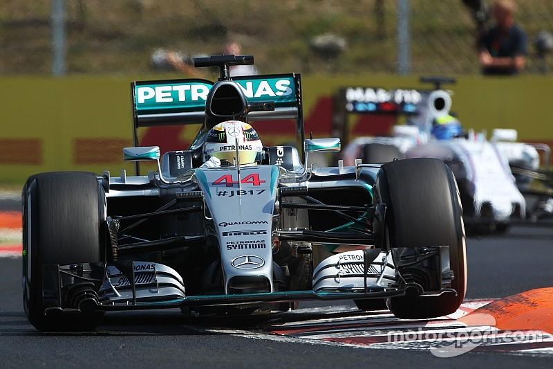 Detonando concorrência, Hamilton lidera dia na Hungria; Massa é 10º