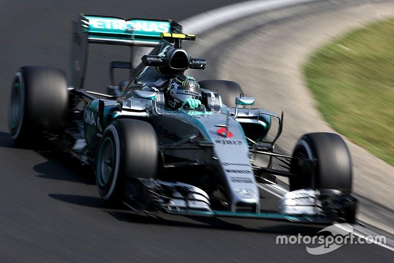 Hongrie - Rosberg se plaint de l'imprévisibilité de son train arrière