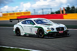 Blancpain Endurance Qualifying report Three Bentleys to start in top ten for 24 Hours of Spa