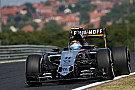 Force India will run in final practice after suspension fix
