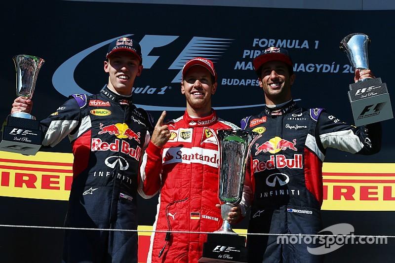 Квят – второй в Венгрии, Феттель выиграл невероятный Гран При