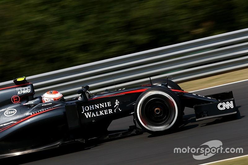 Button - Une performance améliorée pour McLaren