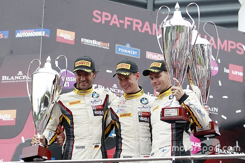 Marc VDS win 24 Hours of Spa