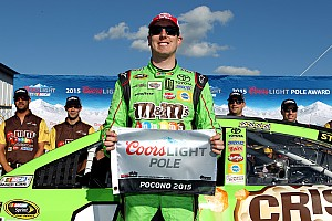 NASCAR Cup Qualifying report Kyle Busch's streak continues with Pocono pole