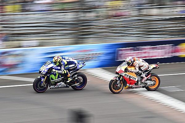 """Rossi """"dio todo"""" para subir al podio en Indianápolis"""