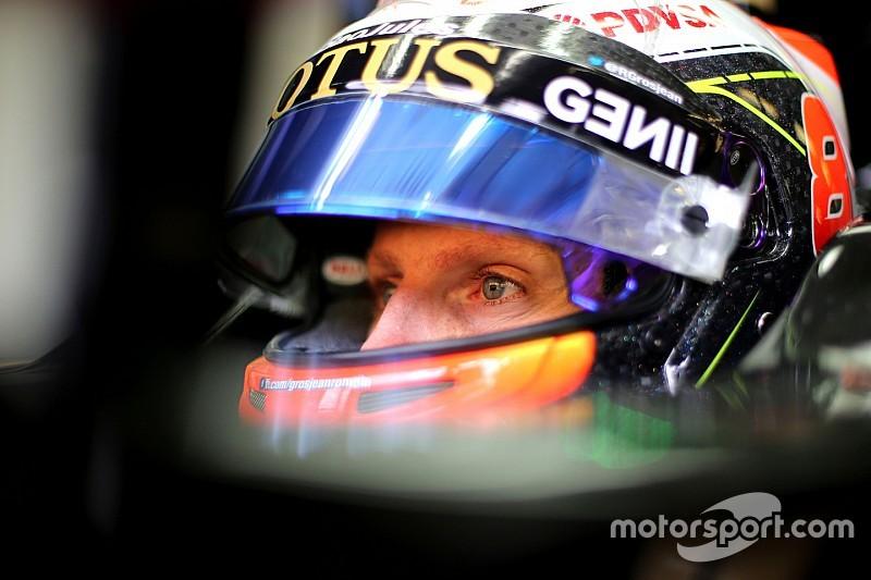 Grosjean à Spa avec des espoirs de gros points