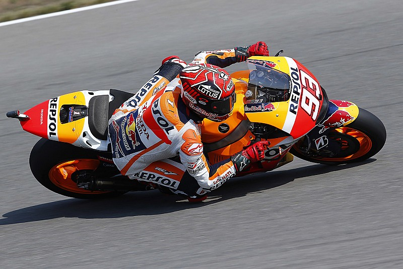 """Marquez """"felt comfortable"""" shadowing Rossi in qualifying"""