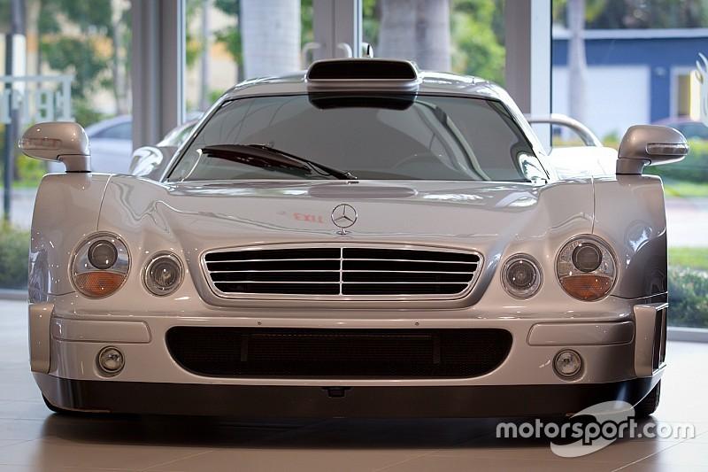 Mercedes Benz CLK GTR At Monterey Car Week