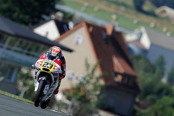 Course - Beaucoup de chutes et une 1ère victoire pour le protégé de Rossi