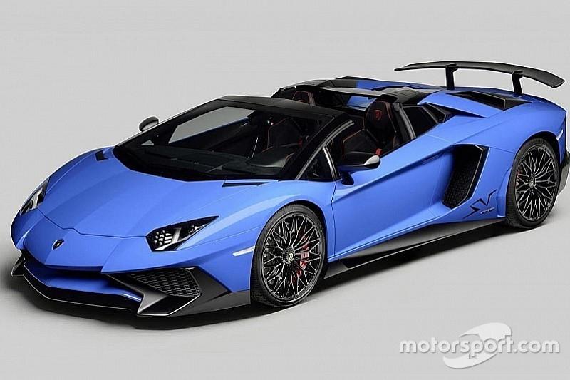 La Lamborghini Aventador Super Veloce enlève le haut avec sa version Roadster!