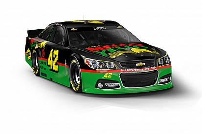 Throwback Mello Yello scheme for Kyle Larson at Darlington