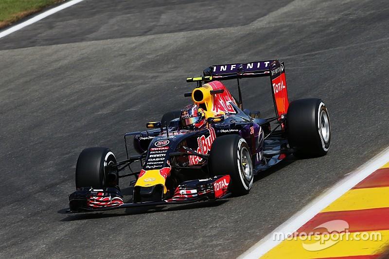 Red Bull multata di 10 mila euro per l'uscita di Kvyat