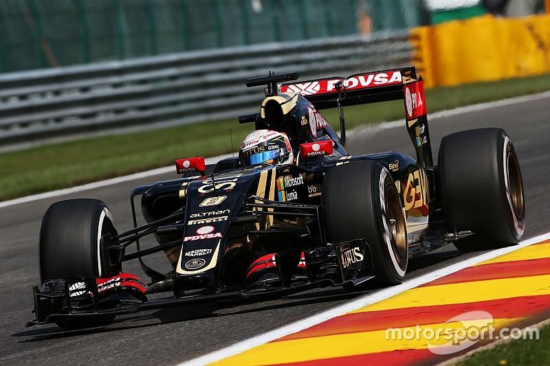Grosjean troca câmbio e perde cinco posições no grid em Spa