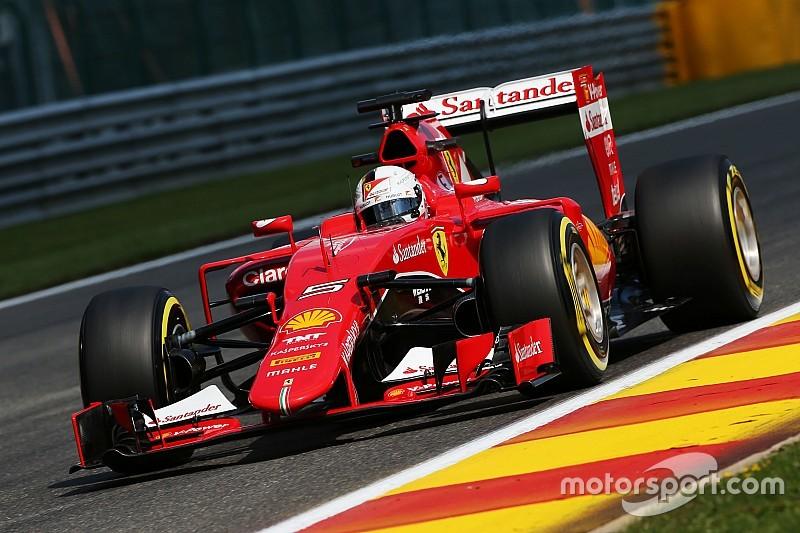 Coup dur pour Vettel et Ferrari à Spa-Francorchamps