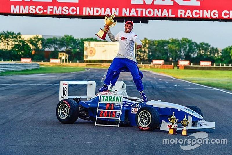 Tharani relishes the MRF title