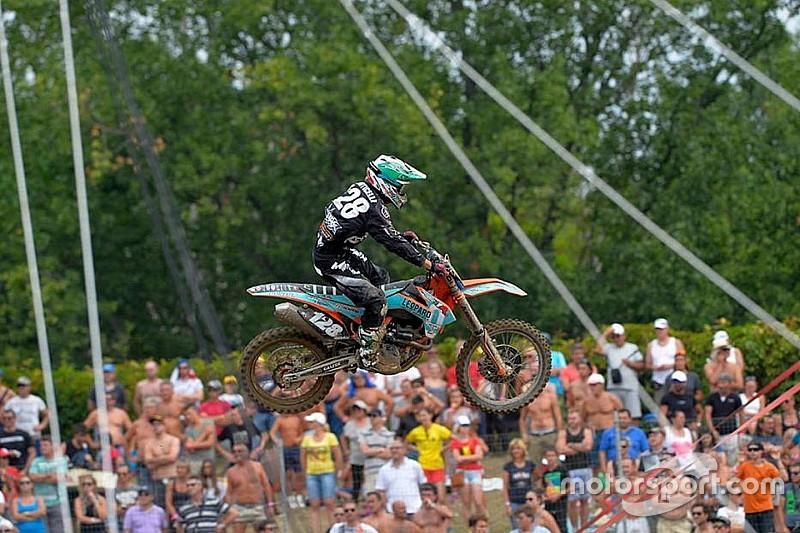 Tim Gajser finisce sul podio la gara di Mantova